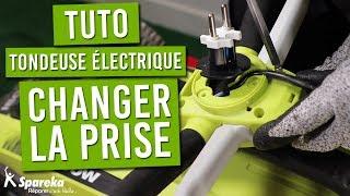TUTO : comment remplacer la prise secteur de votre tondeuse électrique