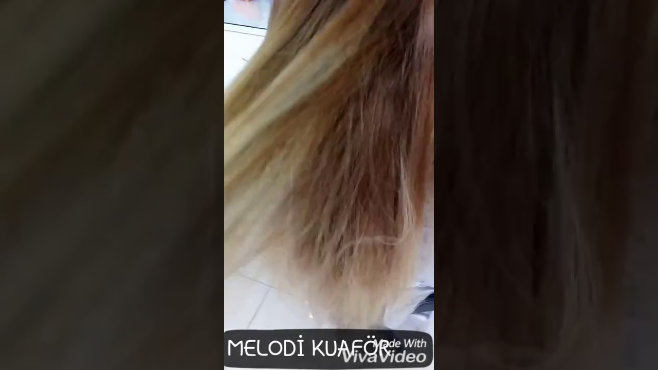 Krepe Balyaj Ombre Hair Kerem Fidan Youtube