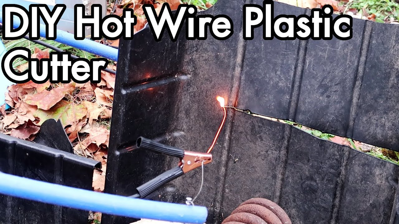 Diy Hot Wire Plastic Cutter Youtube