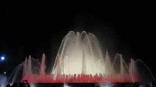 Волшебный фонтан в Барселоне(