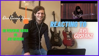 On Peregrine Wings by Joe Satriani (Cover Ayu Gusfanz) UK Guitarist REACTS (ENG|INDO SUB) 1080p HD
