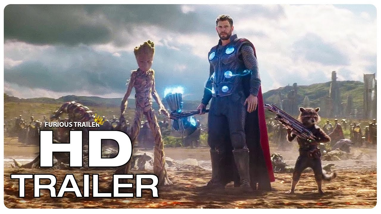 AVENGERS INFINITY WAR Thor Arrives In Wakanda Fight Scene Trailer (2018)  Superhero Movie Trailer HD 00cc447e6da