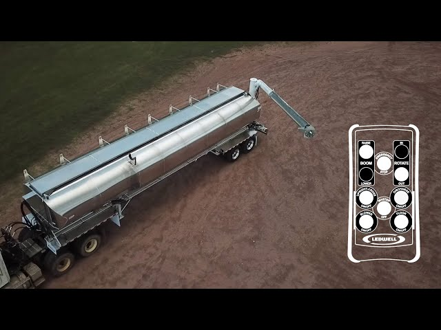 Ledwell Operational Series - Auger & Drag Chain Bulk Feed