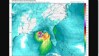 Storm Forming in Gulf of Mexico; Storm Surge Flooding Threat to Western Florida