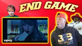 REACTING TO TAYLOR SWIFT - END GAME FT. ED SHEERAN, FUTURE (OFFICIAL MUSIC VIDEO)