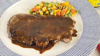海鮮醬香煎牛扒 |食譜 |在家完美複製晚餐!【冠珍醬園】