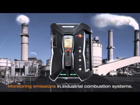 Emissions monitoring equipment - Testo 350 Gas Analyser