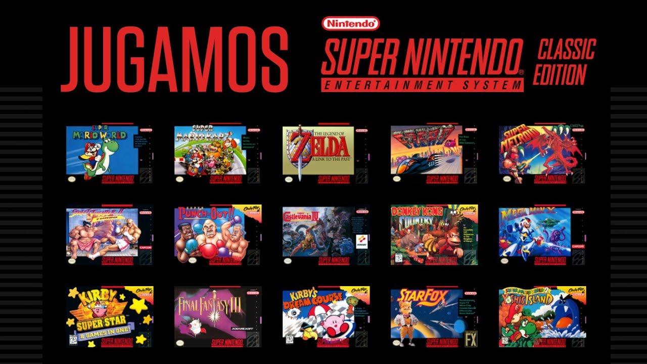 Jugamos Super Nintendo Classic Edition Youtube