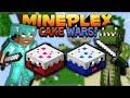 MINECRAFT CAKE WARS! - MINEPLEX CAKE WARS W/ Subscribers! (PVP Mini-Game)