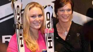 Lindsey Vonn und Maria Riesch