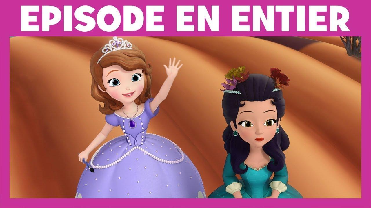 Princesse Sofia Moment Magique Les Tableaux Youtube