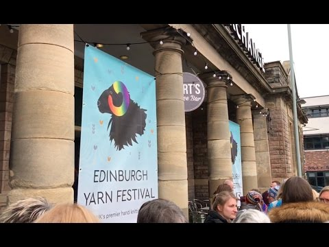 Babbles Travelling Yarns - Edinburgh Yarn Festival 2017!