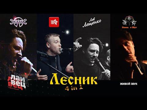 Лесник Король и Шут | в 4 разных стилях |   ELCAPITAN! cover