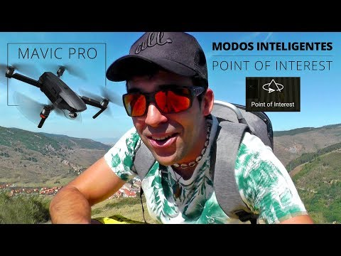 Modos Inteligentes Mavic Pro: Point of Interest / Punto de Interés tutorial from YouTube · Duration:  11 minutes 5 seconds