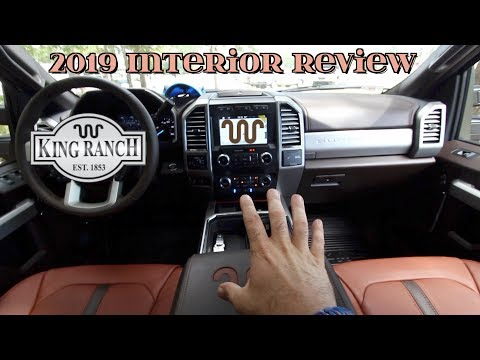 Super In Depth Interior Review | 2019 FORD F-250 KING RANCH - Most Luxurious Truck In America?
