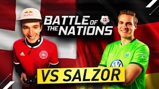 THE BATTLE OF THE NATIONS P2 - VS Benedikt Saltzer - Playing a WOLFSBURG PRO!