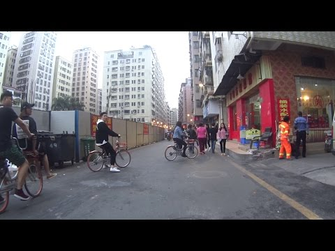 sunday shenzhen street bicycling - Mar 05 2017 - guangdong china