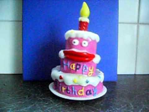 Singing Birthday Cake Sammy Youtube