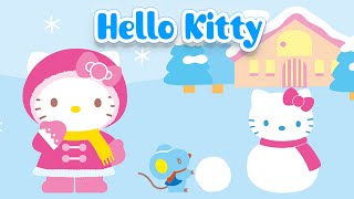 Hello Kitty Christmas Puzzles for Kids - App Gameplay Video