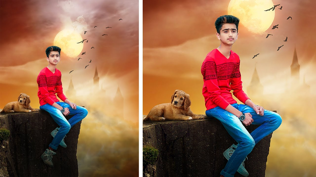 Lonely boy photoshop manipulation tutorial