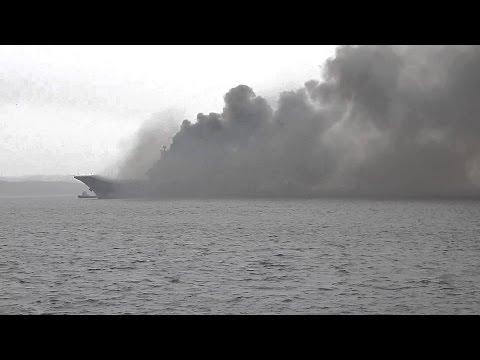 Адмирал Кузнецов пошел к Сирии: Запад В ШОКЕ от возможной экологической катастрофы.