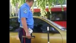 Очаковские милиционеры на работе