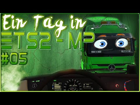 Rec Ban @ALL 🚚 Ein Tag in ETS2 - MP #05   Crash Compilation