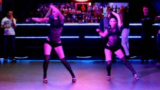 GO-GO Студия танца QUEENS-Дуэт Алина Бондаренко ,Ира Миняйло