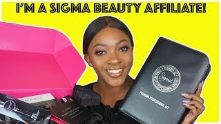 I'M A SIGMA BEAUTY AFFILIATE | MAYA'S MAKEUP