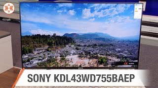 SONY Bravia TV KDL43WD755BAEP - Jubiläums-Angebot der Woche