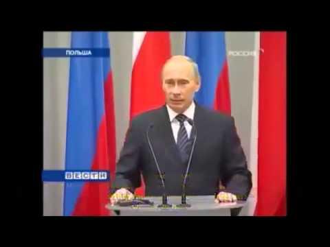 Wladimir Putin: Auch Polen trägt die Mitschuld am Zweiten Weltkrieg