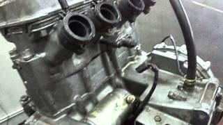 Kawasaki zzr 400 -2 ремонт двигуна