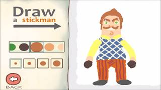 HELLO NEIGHBOR Draw a Stickman Epic 2  - NEIGHBOR and FNAF Freddy