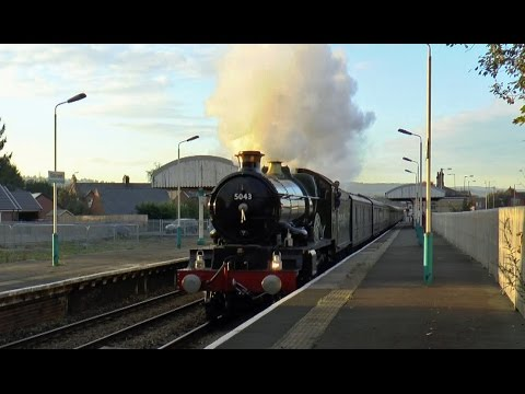 GREAT WESTERN STEAM LOCOMOTIVE PANORAMA
