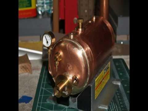 Model Steam Boiler Construction - YouTube