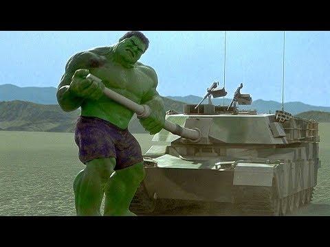 Hulk vs Tanks - Hulk Smash Scene - Hulk (2003) Movie CLIP HD