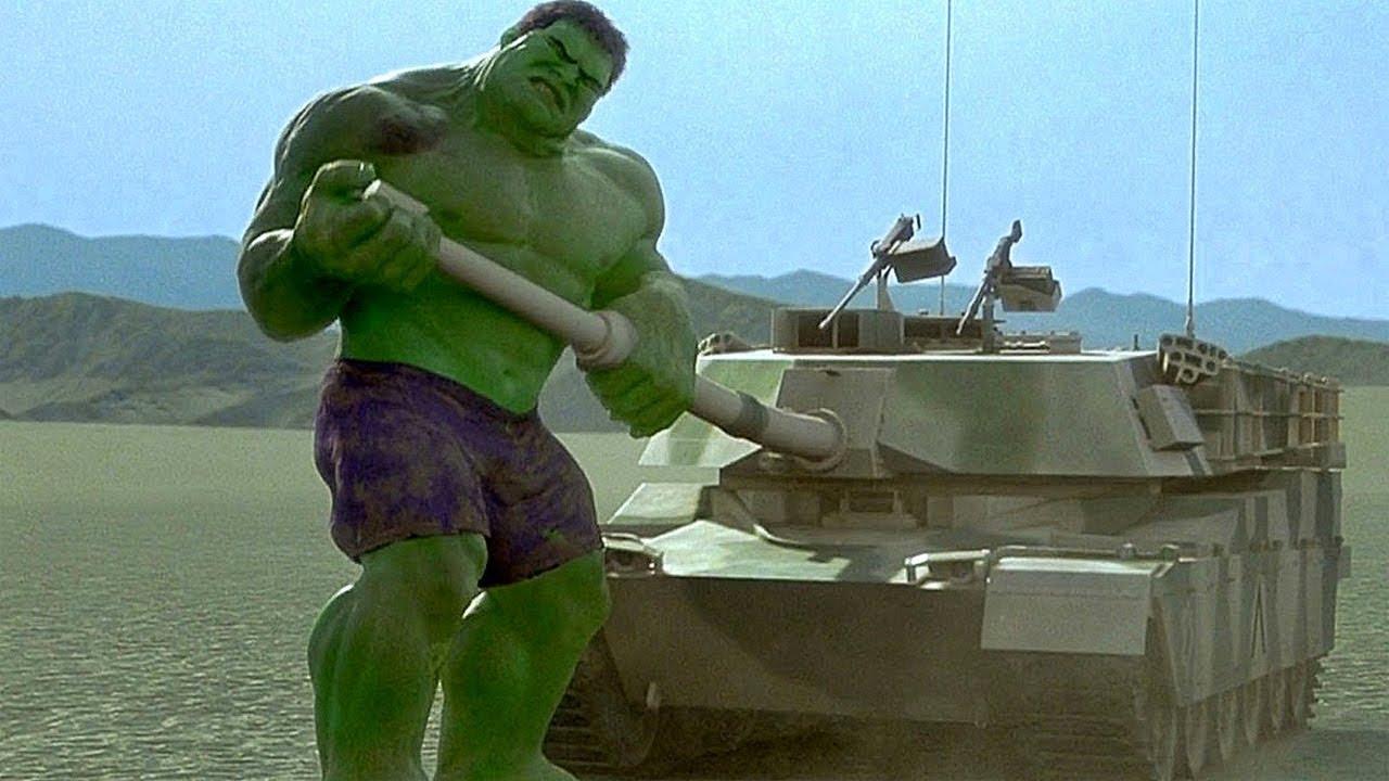 Hulk vs Tanks - Hulk Smash Scene - Hulk (2003) Movie CLIP ... - photo#20
