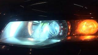 Audi A4 линзы биксенон. Установка ксенон.(Продажа и установка линз Санкт-Петербург. Наш сайт ксенонцентр.рф Наша группа vk.com/zumato., 2014-10-20T21:31:19.000Z)