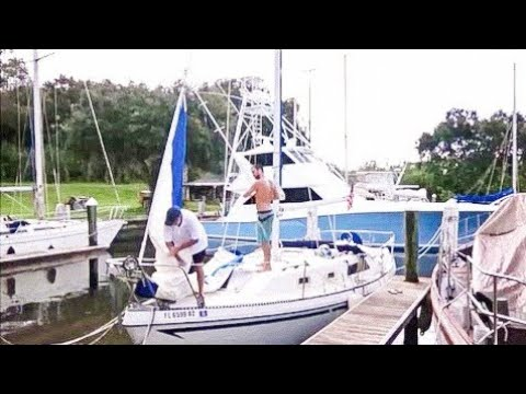 We've Got a Hurricane Headed Our Way (EP 2 - MJ Sailing)