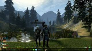 Dragon Age 2: Fenris is being romantic and sweet [Mark of the Assassin DLC]