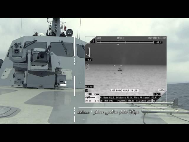ASELSAN 30MM RCWS MUHAFIZ SMASH ARABIC