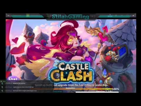 Castle Clash Stream Highlights #1 - Insane Serpent Queen!