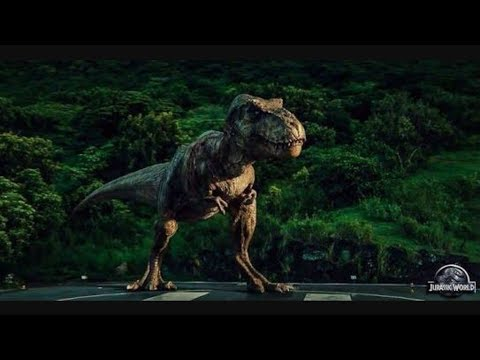 All Jurassic Park/World T. Rex Roars!!!