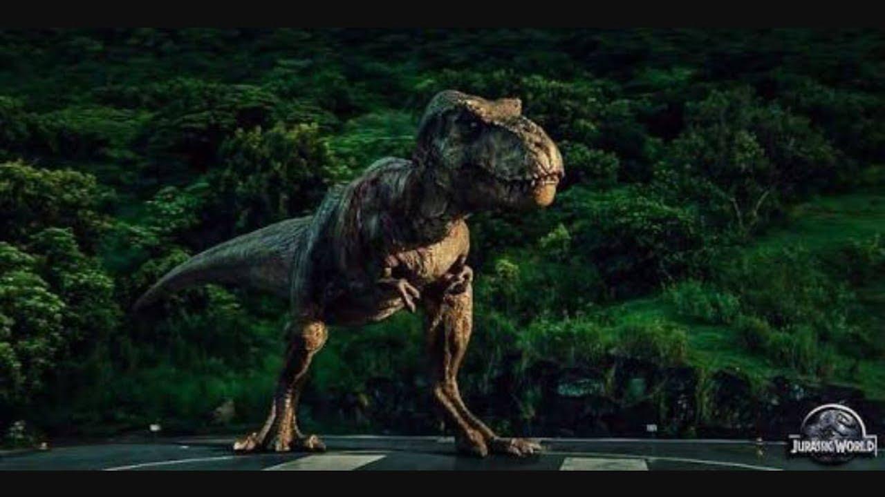 Jurassic Park T Rex Roar All Jurassic Pa...