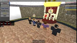 The Queen announcing elections- Sweden Roblox