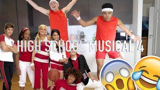 REENACTING HIGH SCHOOL MUSICAL!