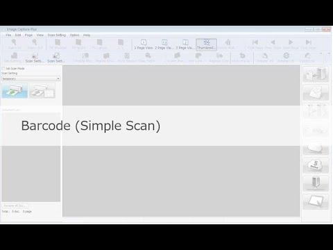 "Panasonic ""Image Capture Plus"" Demo - Barcode (Simple Scan)"