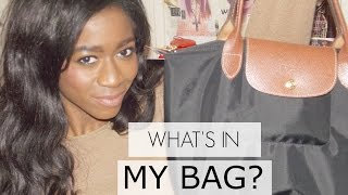 WHAT'S IN MY BAG?- LONGCHAMP LE PLIAGE Thumbnail