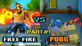 FREE FIRE VS PUBG ON TIK TOK,,PART#1||| by IGB