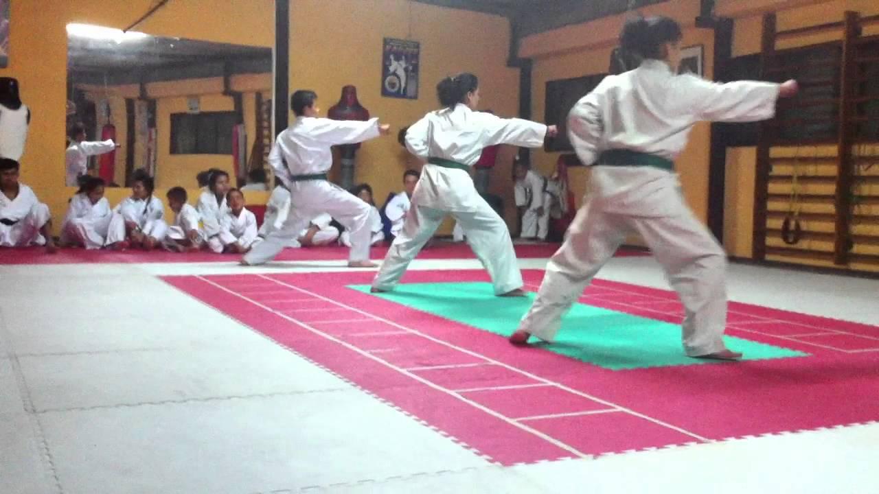 Katas Para Cinta Azul Karate Do Youtube